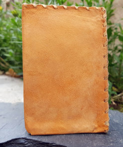 African wallet, leather wallet