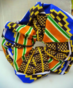 African wax fabric from Nigeria