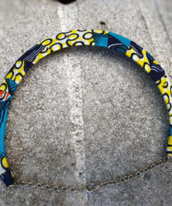 Collar circular estampado